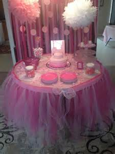 Tutu Themed Baby Shower Decorations by Tutu Baby Shower Decorations Via Kevyn Slayton Ideas