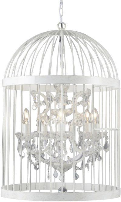 lustre romantique lustre romantique avec cage asha