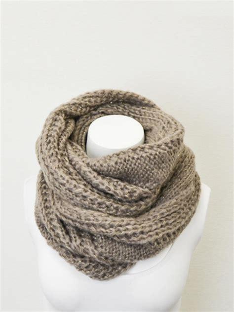 infinity vault stylegirl chunky knit infinity scarf vault