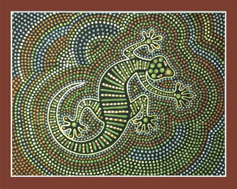 papunya dot painting representing australia in our