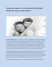 Canadian Family Law Lawyers Top Family Law Lawyer In
