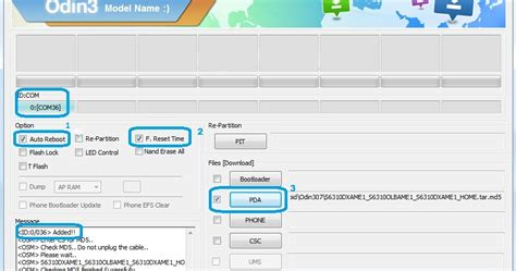 tutorial flash hp samsung cara flash hp samsung android terbaru via odin terbaik 19