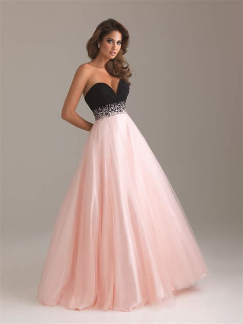 Home Designer Pro Export by China Pink And Black A Line Sweetheart Floor Length Prom