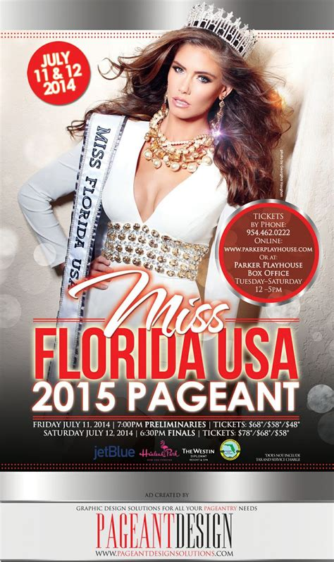 Buy For Miss by 48 Best Images About Pageant Flyers Promo Items