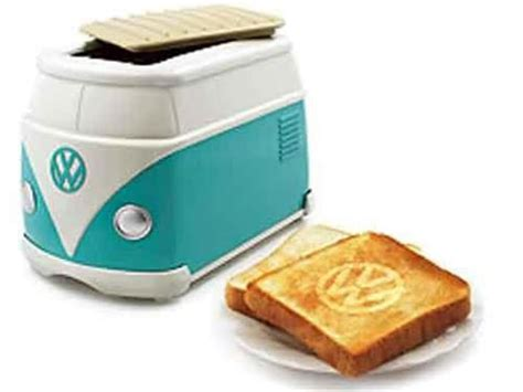 tostapane ktm vw toaster and toast for your next hippie