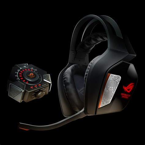 Headset Republic Of Gamers asus rog centurion true 7 1 gaming headset umart au