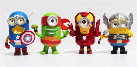 imagenes de minions avengers minions edicion superheroes batman iron man superman y mas
