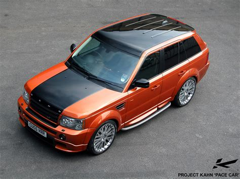 range rover sport pace car