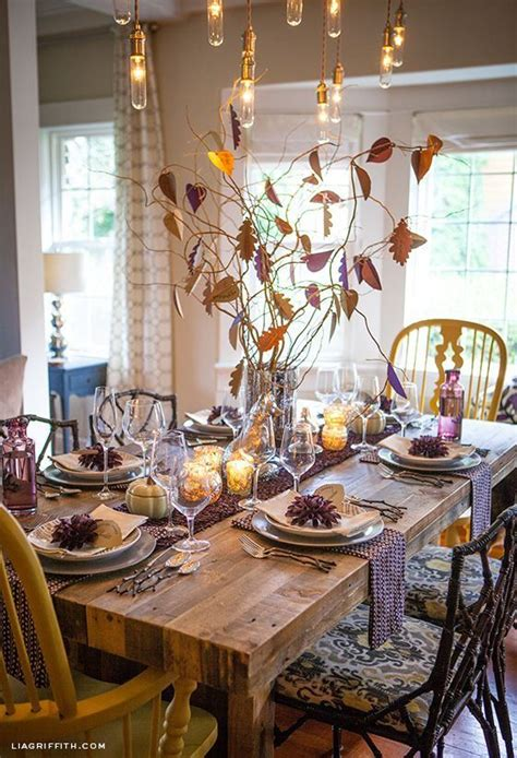 Thanksgiving Dining Room Table Decorations by Thankful Tree Thanksgiving Tablescape Quot Popular Pins