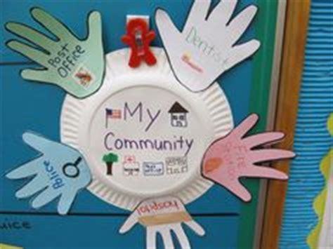 volunteer craft projects safety and community helpers theme for on
