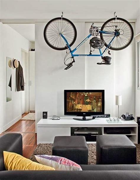 22 space saving bike storage ideas adding sports enthusiasm to interior decorating