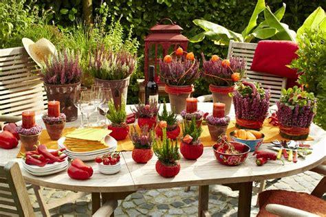 dekorieren eines speisesaals buffet im texmex style durch den sommer heidetrends