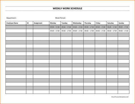 Calendars That Work Weekly 2016 Work Schedule Calendar Calendar Template 2017