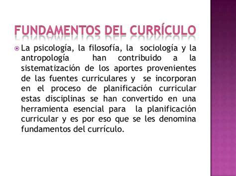 Modelo De Planificacion Curricular De Y Fundamentos Curriculo