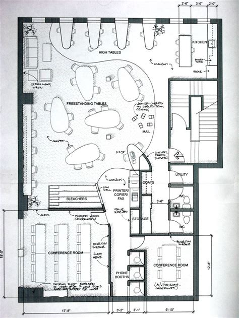 job layout plan 14 best images about coworking spaces floorplans on