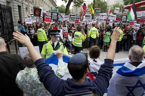 left wing groups care   hating israel  anti