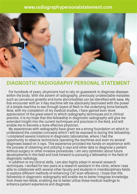 Radiography Dissertations by Radiology Personal Statement Writing Literature Reviews