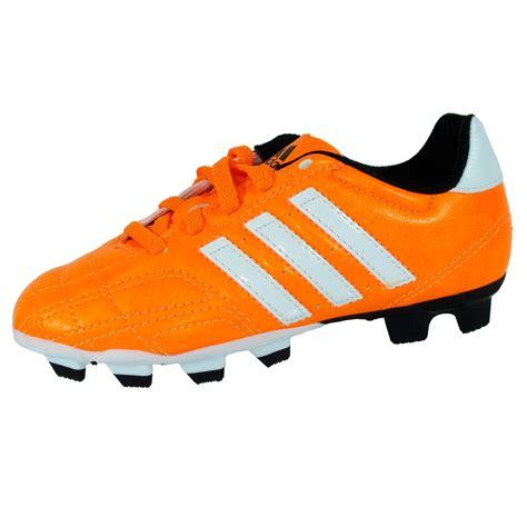 orange football shoes new boys adidas goletto iv trx fg junior orange