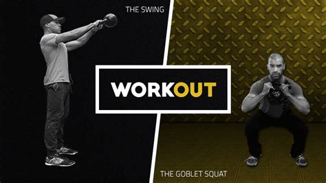 kettlebell squat swing the kettlebell swing goblet squat workout