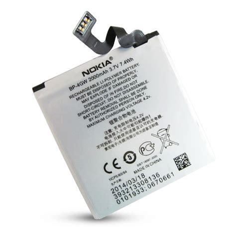 Battery Lumia 920 Bp 4gw pin nokia lumia 920 bp 4gw 2000mah original battery