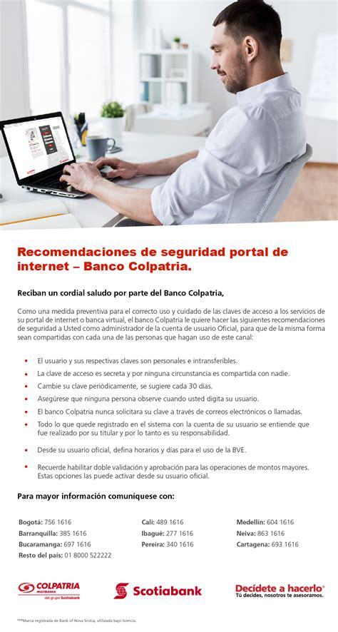banca virtual uso seguro de la banca virtual empresarial