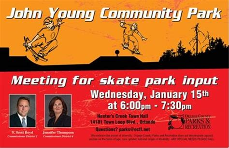201 S Rosalind Avenue 2nd Floor Orlando Fl 32801 - upcoming community meeting community skate park