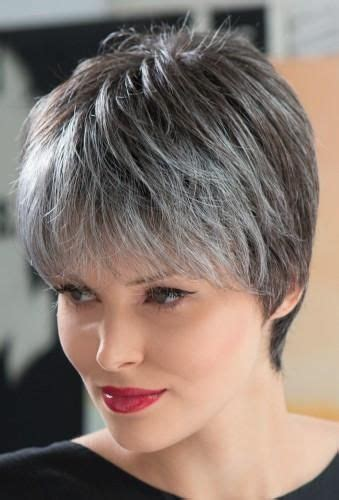 short salt and pepper hair 1000 ideas about gray hair women on pinterest short