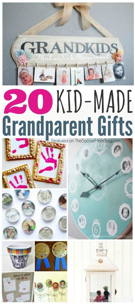 christmas gifts tomake forgrandparents 20 grandparent gifts crafts to make with grandkids adventures in