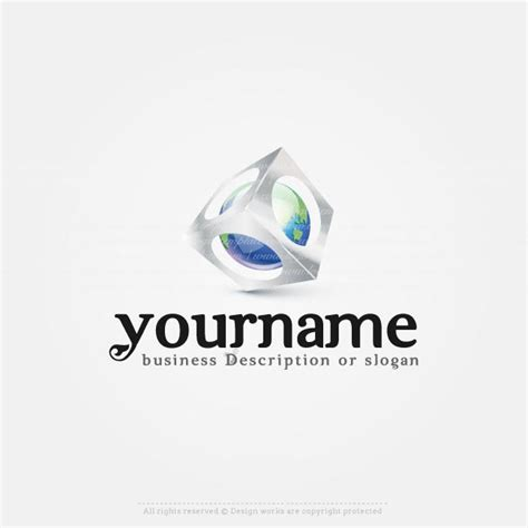 3d logo templates create 3d globe logo templates with our 3d logo maker