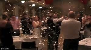 wedding guest shocked when bride and groom demand more musical loving bride and groom shocked when their wedding