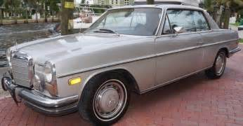 1973 Mercedes 280c 1973 Mercedes 280c Information And Photos Momentcar