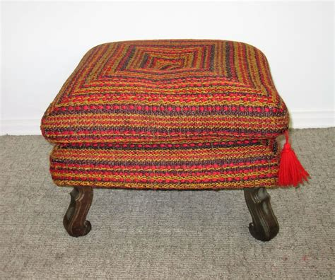 colorful pouf ottoman houseofaura com colorful ottoman colorful striped kilim