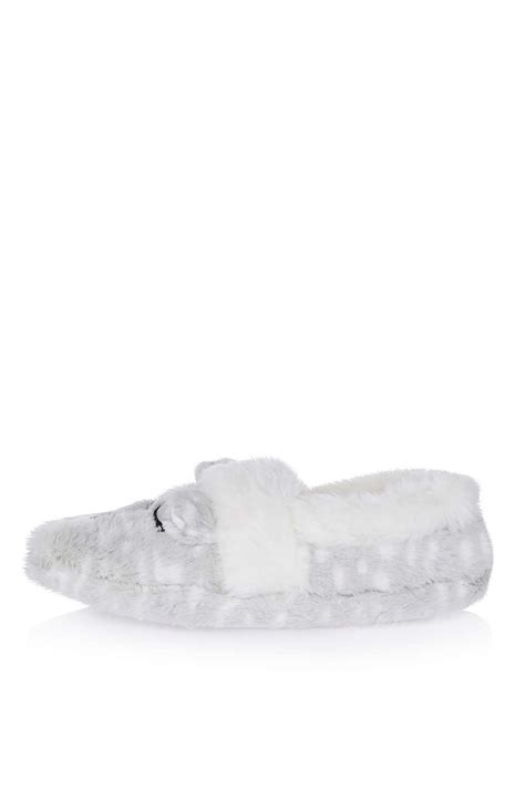 snow leopard slippers snow leopard slippers new in fashion new in topshop