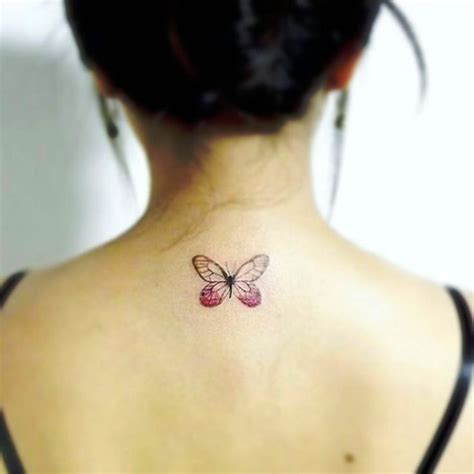 butterfly tattoo on neck small collection of 25 small butterflies tattoo on neck back