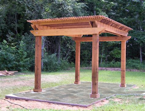Pergola Rafter Ends Outdoor Goods Pergola Rafter Ends