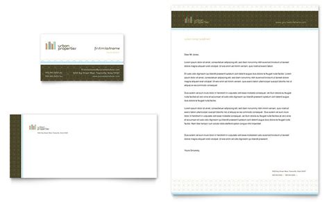 business card and letterhead template real estate business card letterhead template