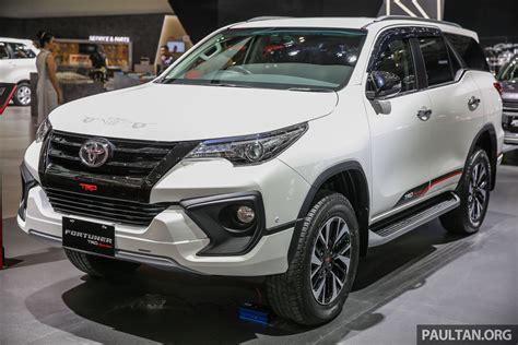GIIAS 2017: Toyota Fortuner TRD Sportivo, Indo spec
