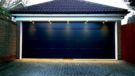 modern double garage door eastern garage doors