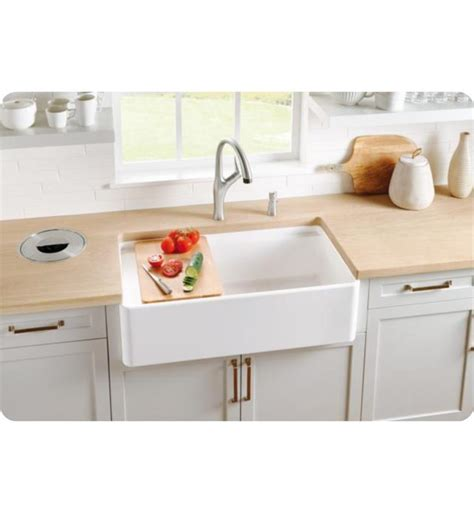36 apron sink white blanco 523026 profina 36 quot single bowl apron front fireclay
