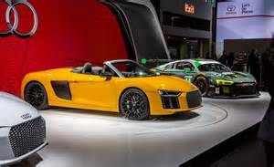 Connected Car Expo 2017 2017 Audi R8 Spyder Reviews Specs Best Sedans