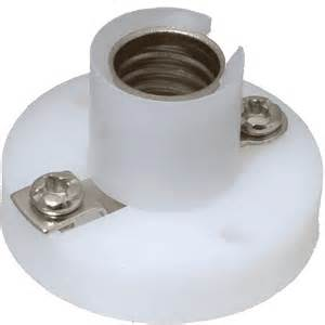 Light Holder Tandy E10 Lamp Base With Terminals