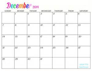If you d like free printable 2014 monthly calendars that feature a
