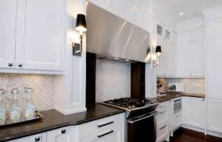 Backsplash For White Kitchens by White Marble Backsplash Contemporary Kitchen