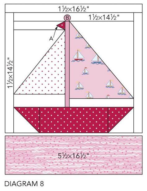 sailboat quilt block patterns 208 best sailboat quilts images on pinterest nautical