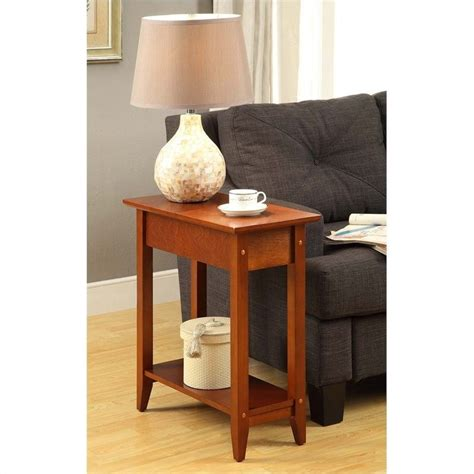 Cherry Living Room End Tables Flip Top End Table Cherry 7105059ch