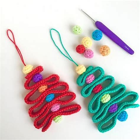 crochet patterns galore ribbon christmas tree