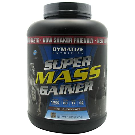 Suplemen Dymatize Mass Gainer dymatize mass gainer 6lb supplement central