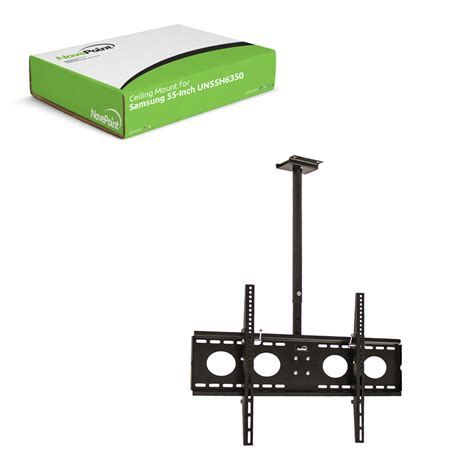 ceiling mounted ceiling mount samsung 55 inch smart led tv bracket 360 tilt swivel un55h6350 ebay