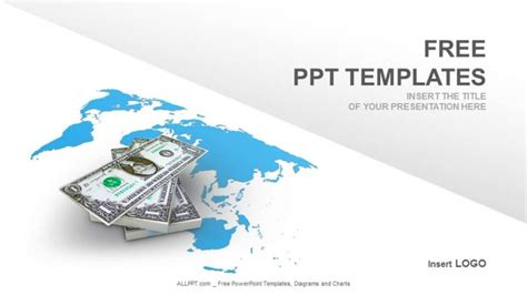 template ppt finance free american dollar finance ppt templates download free