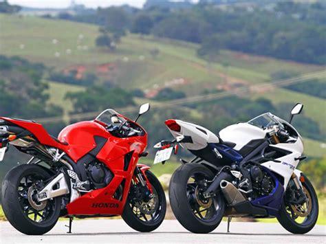 Honda Motorrad Gera by A Renovada Honda Cbr 600rr Enfrenta A Mais Recente Gera 231 227 O